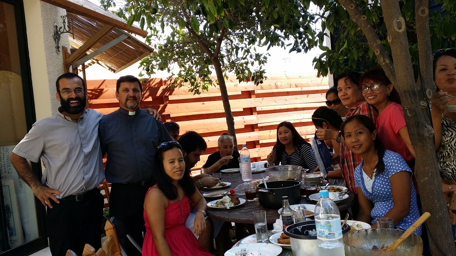 Lunch with the Divine Mercy Prayer Group