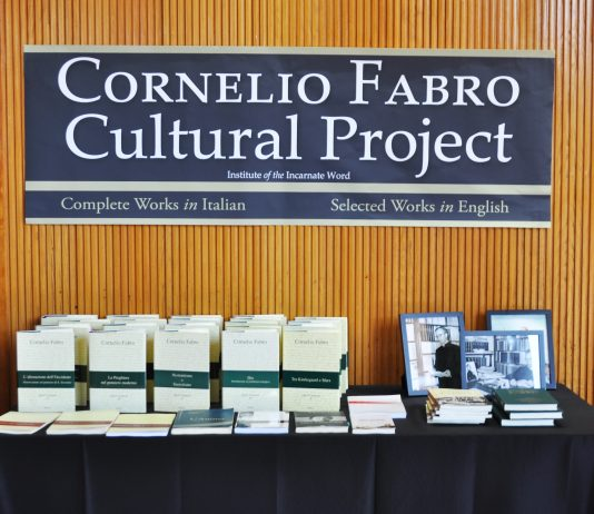 On Friday, April 1st, and Saturday, April 2nd, the Cornelio Fabro Cultural Project, together with the Catholic University of America, held the first ever Fabro Symposium here in the United States.
