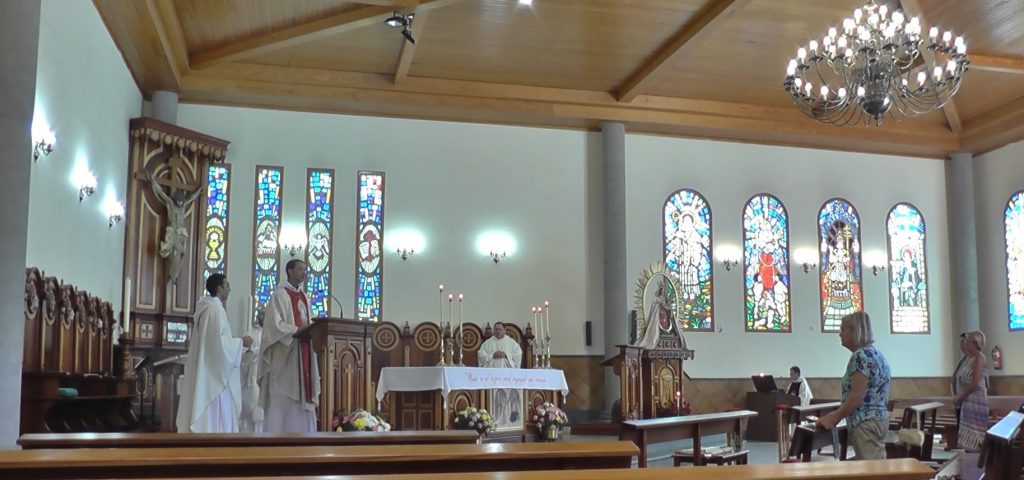 Celebration of the Holy Mass in the Monastery